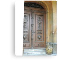 Waddesdon Door Canvas Print