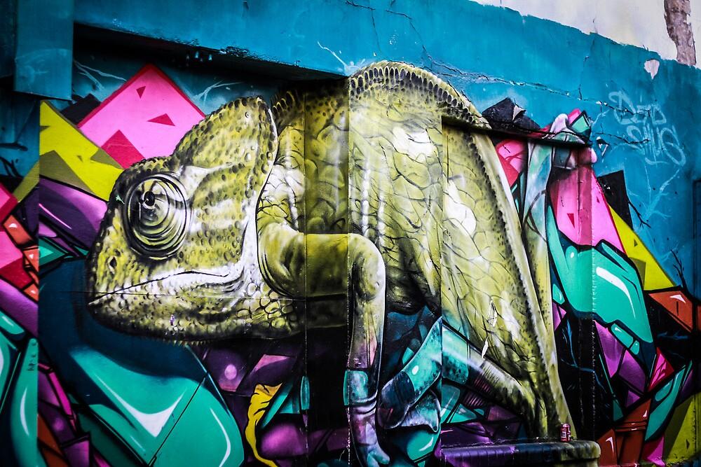 Bold street graffiti  by cavan michaelides