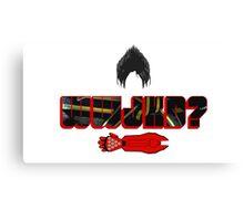 What Would Jin Kazama Do? Canvas Print
