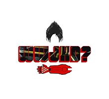 What Would Jin Kazama Do? Photographic Print