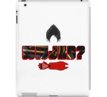 What Would Jin Kazama Do? iPad Case/Skin