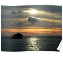 A view from Portreath Poster