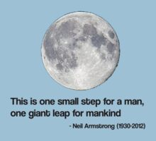 Neil Armstrong Quote  by gemzi-ox
