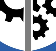 Support the Brotherhood of Steel! (Center) Sticker