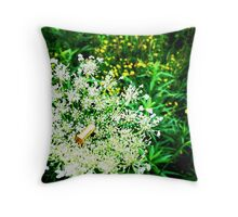 Peace in War Throw Pillow