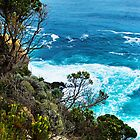 Looking out from Great Ocean Road by Yukondick