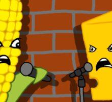 The Joke Debate Sticker
