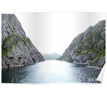 Troll Fjord Poster