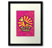 All The Things Framed Print