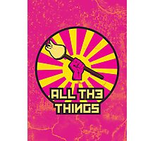 All The Things Photographic Print