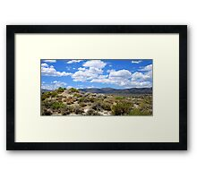 A Cloudy Summer Framed Print