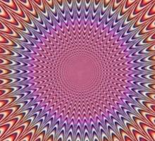 Optical illusion t-shirt/sticker  Sticker