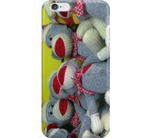 So Many Sock Monkeys! iPhone Case/Skin