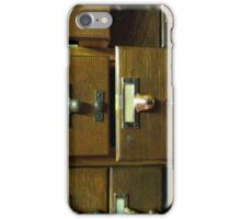 Used Card Catalog (Full of Toys) iPhone Case/Skin