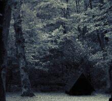 Cabin in the woods Sticker