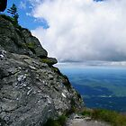 Turn left at the end of the cliff - Mt. Mansfield, VT by PASpencer