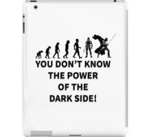 star wars dark side iPad Case/Skin