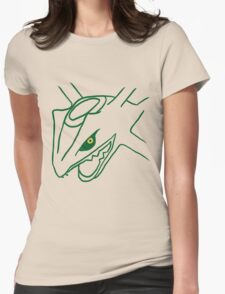 Legendary Line - Rayquaza Womens Fitted T-Shirt