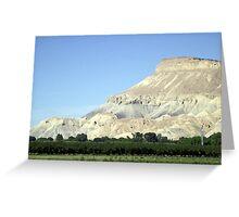 Mount Garfield Greeting Card