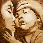 mother and child by donnamalone