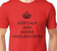 Keep Calm And... Adore Hiddlesworth Unisex T-Shirt