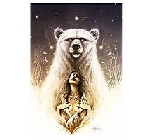 Bear Spirit Photographic Print