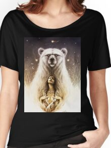 Bear Spirit Women's Relaxed Fit T-Shirt