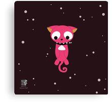 Cosmos ★ Kitten  Canvas Print