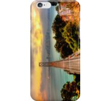San Francisco - Oakland Bay Bridge Sunset iPhone Case/Skin