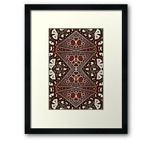 Geometric Patterns No. 48 Framed Print