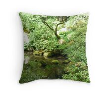 Japanese Garden 2 Throw Pillow
