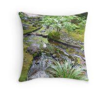 Japanese Garden 4 Throw Pillow