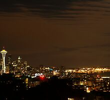 Seattle at Night by labiosa