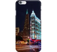 Columbus Tower & Trans-America Building San Francisco iPhone Case/Skin