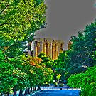 Athens-temple of Olympian Zeus by Yannis-Tsif