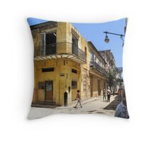 Corner. Throw Pillow
