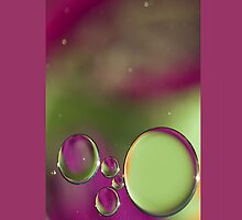Bubble Beauty  - iPhone by HanieBCreations
