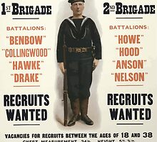 Royal naval division Handymen to fight on land sea Men wanted 134 by wetdryvac