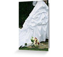 Bridal Dress Greeting Card