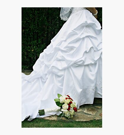 Bridal Dress Photographic Print