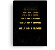 The Force Awaits Canvas Print