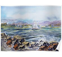 San Francisco Bay Area - View from Richmond Shore Poster