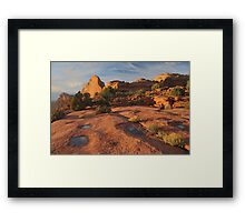 Canyonlands Sunset Framed Print