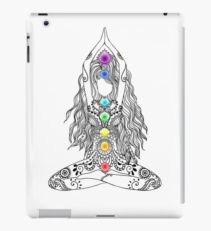 Yoga Om Chakras Mindfulness Meditation Zen 1 iPad Case/Skin