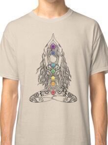 Yoga Om Chakras Mindfulness Meditation Zen 1 Classic T-Shirt