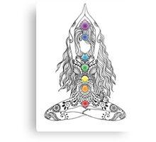 Yoga Om Chakras Mindfulness Meditation Zen 1 Metal Print