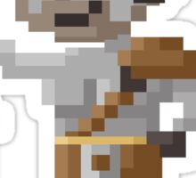 Pixel Iron Bull - Dragon Age Sticker