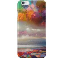 Colouratura Sky Study iPhone Case/Skin