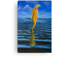 Water Angel Canvas Print