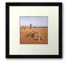 Rock Skeleton Framed Print